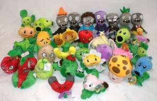 Brand new 32 figures of Plants vs Zombies soft toy