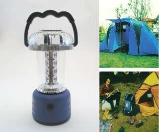 Bivouac 12 White 4 Color LED Light Camping Lantern Lamp