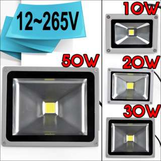 30W/50W High Power LED Garden Landscape Flood Light Multicolor