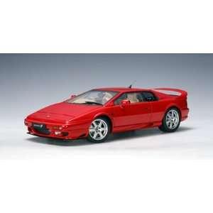com Lotus Esprit V8 Red (Part 75311) Autoart 118 Diecast Model Car