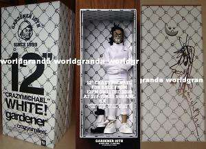 Michael Lau Nike Hot Toys WHITE Gardener 110 12 Figure