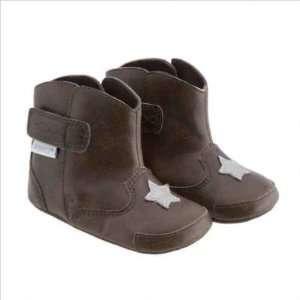 Robeez RB35596 BROWN Boys Mini Shoez Little Sheriff Boots Baby