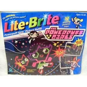 Lite Brite Powerpuff Girls Picture Refill