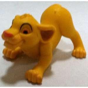 2.5 Disney Lion King Simba Figure Doll Toy, Cake Topper