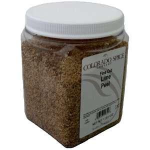 Colorado Spice Lime Peel, Fine Cut, 20 Ounce Jar  Grocery