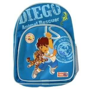 Diego Animal Rescuer Backpack Bag w/ bottle  Toddler size