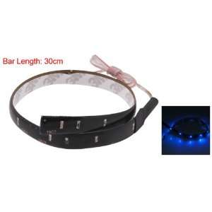 Amico Auto Car Flexible Blue 12 SMD Decorative LED Light Strip Lamp 11