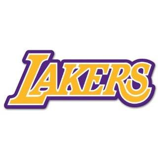 Los Angeles Lakers Sticker (Decal)   6 Automotive