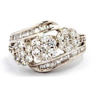 10KT WHITE GOLD 2.00 CTTW FASHION RING D GOLD Jewelry