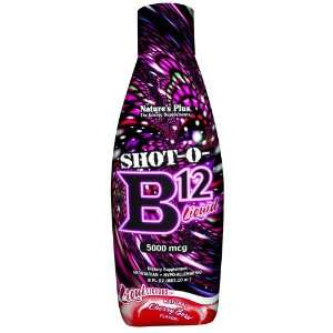 Natures Plus   Shot O B12, 5000mcg, 8 oz liquid Health