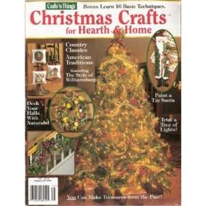 Christmas Crafts for Hearth and Home 1996 Crafts N Things