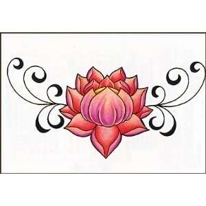 Pink Cherry Blossom Temporaray Tattoo Toys & Games