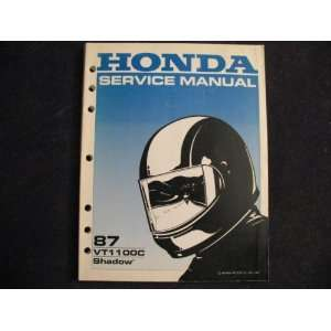 Shadow New Original Factory Service Manual Honda Motor Co. Books