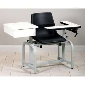 CLINTON STANDARD LAB SERIES BLOOD DRAWING CHAIRS Plastic seat chair w