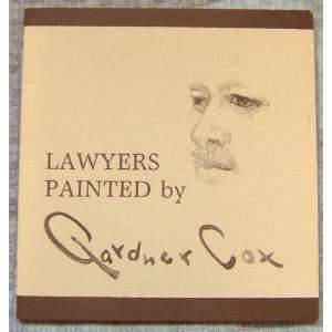 Lawyers painted by Gardner Cox (9780880860116) Gardner Cox Books