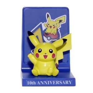 Limited Edition Pokemon 10th Anniversary Pikachu Figure