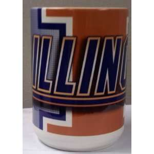 Illinois Fighting Illini Coffee Mug Sports & Outdoors