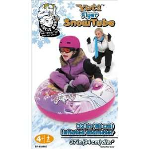 Uncle Bobs 37 Yeti Flyer Girls Snow Tube Toys & Games