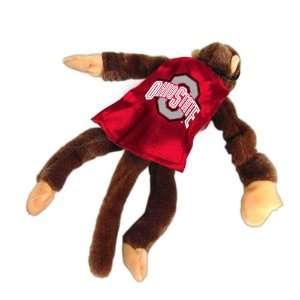 Pack of 2 NCAA Ohio State Buckeyes Plush Flying Monkey Stuffed Animals