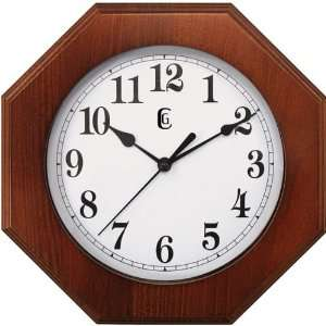 NEW 9 x 11 Wood Wall Clock (Personal & Portable)