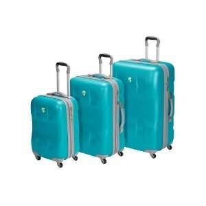Eco Case 3 Piece Luggage Set   Turquoise