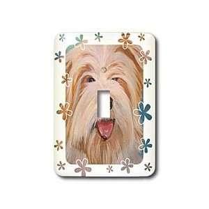 Taiche Acrylic Art   Dog American Bulldog   Light Switch
