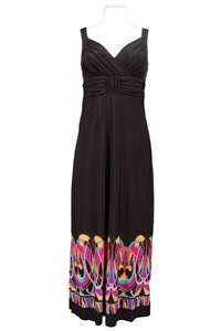 EMMA AND MICHELLE SLEEVELESS JERSEY MAXI DRESS, NWT