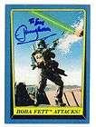Jeremy Bulloch Auto 1983 Return Jedi #147 Star Wars Boba Fett Auto JSA