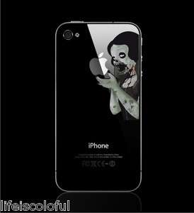 Zombie Snow White Princess Vinyl Decal Sticker Apple iPhone 4 / 4S
