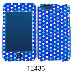 BLUE POLKA DOT SNAP ON CASE COVER PROTECTOR (HOTTIE) Electronics