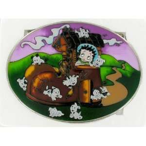 Boop Stained Glass Mother Hubbard Nursery Rhyme Patio, Lawn & Garden