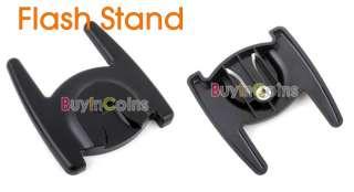 Flash Stand Holder Mount Base Hot Shoe for Flashgun V L