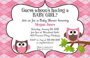 COLOR   Baby Shower Invitation   YOU PRINT Boy, Girl, Twins