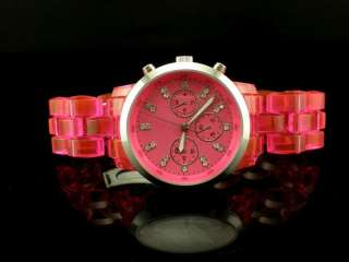 Summer Watch Mens Ladies Big Dial/Case Wrist Watch 9 Colours