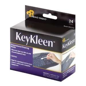 Read/Right   Key Kleen Swabs, Pre Moistened, 24/BX