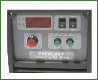 Everlast PowerTig 185 185A 185AMP ACDC TIG WELDER 180