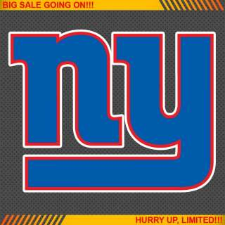 New York Giants NFL Football Logo Car Bumper Window Wall Sticker