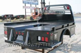 New CM SK Model Utility Truck Flatbed Dodge/Ford/Chevy With Gooseneck