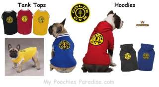 GOLDS GYM Tank Tops & Hoodies for DOGS Wide Selection