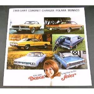 1969 69 DODGE BROCHURE CHARGER R/T CORONET SUPER BEE