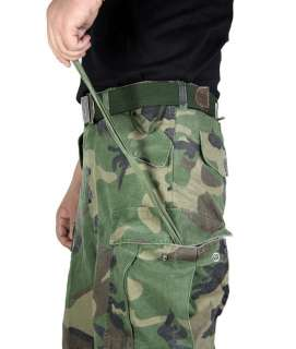 CS Mens Military Army Forest Camouflage Pants MP16 W32