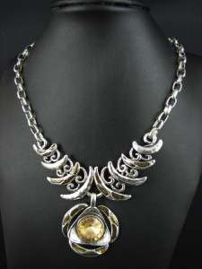 New In Fashion Silver Tone Pendant Necklace Chains MS1920