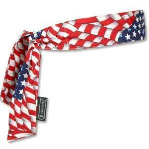 CHILL ITS COOLING BANDANA/HEADBAND   STARS & STRIPES   6