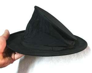 Rare WOODROW LONDON antique folding top hat