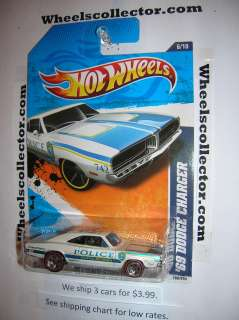 69 DODGE CHARGER * 2011 Hot Wheels * Red Line  Only