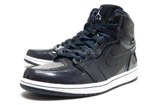 Nike Air Jordan 1 Retro High Patent Pack Dark Obsidian