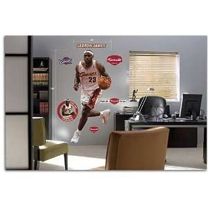 Cavaliers   Fathead NBA Players   James, LeBron ( James, LeBron