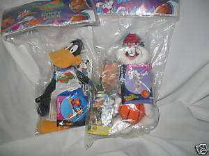 Space Jam Daffy Duck & Bugs Bunny Plush Toys McDonalds