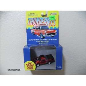 Johnny Lightning Thunderjets Dodge Ram Truck, Metal Flake