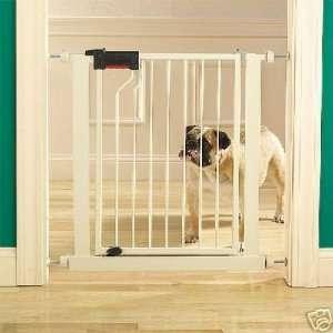 Wood Walk Thru Dog Gate Pet Fence Spans Up To 9 Ft Wide